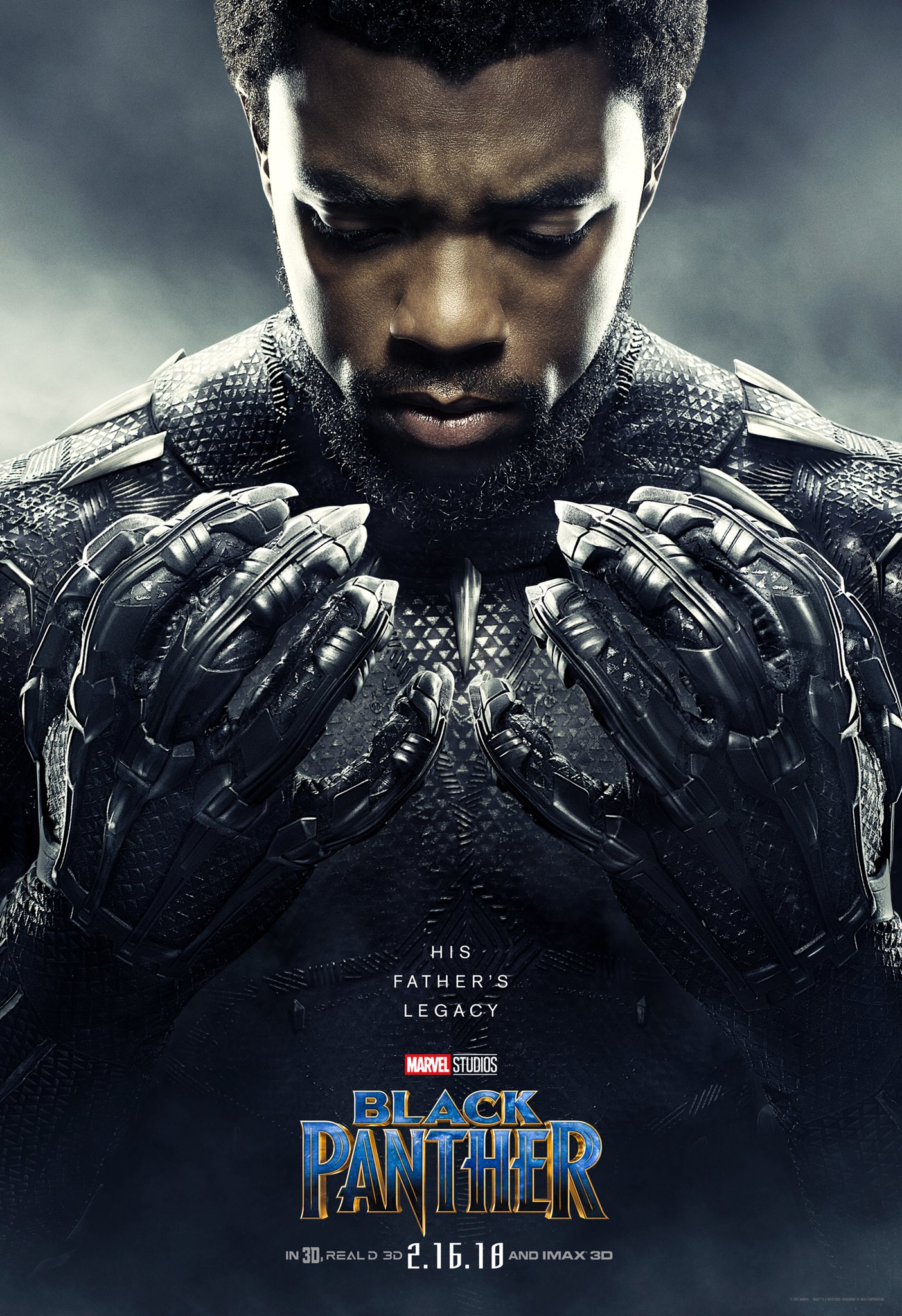 T Challa Black Panther Movie Poster fan girl stuff