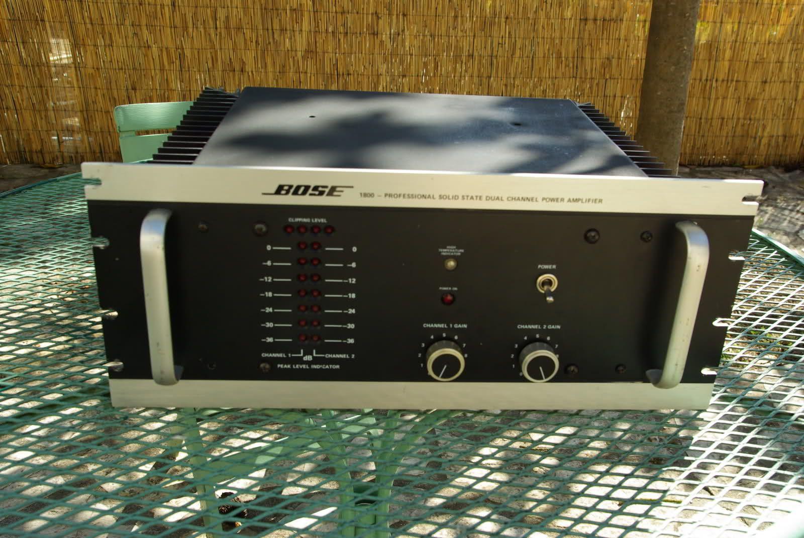 bose 1800 i power amplifier pinterest bose rh pinterest com
