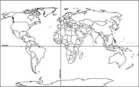 Desenhos para Pintar - Mapa para colorir áfrica | pinterest | Pinterest