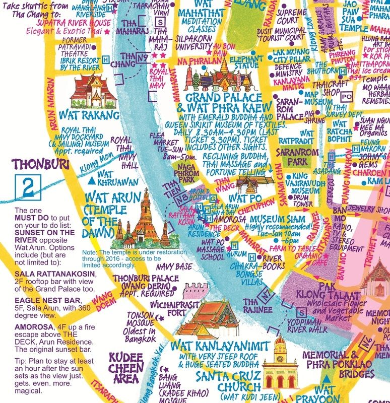 Bangkok Explore with Confidence Creative maps