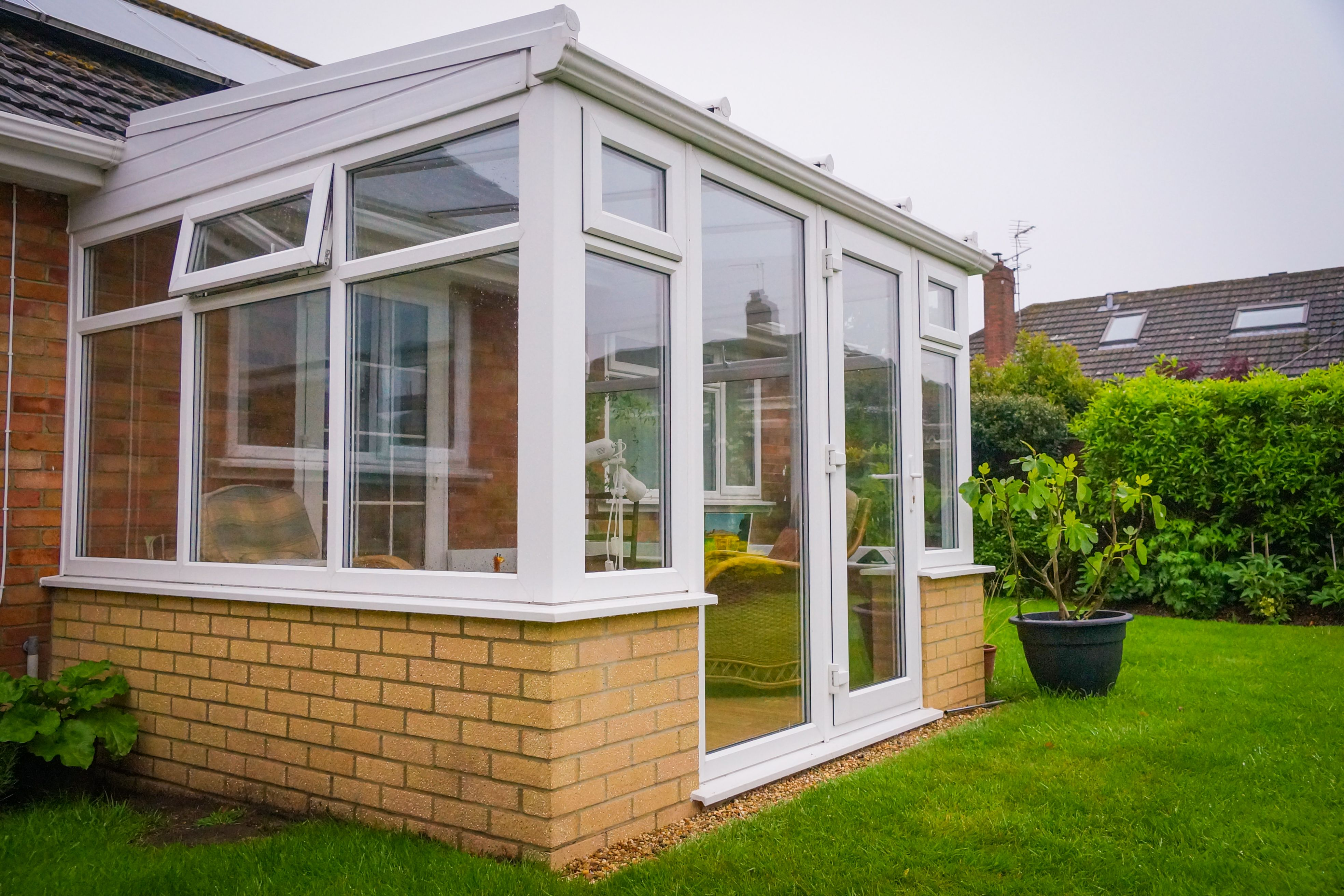 Simple Yet Effective Lean To Conservatory Project In Sprowston Norfolk Conservatory Design Lean To Conservatory Lean To