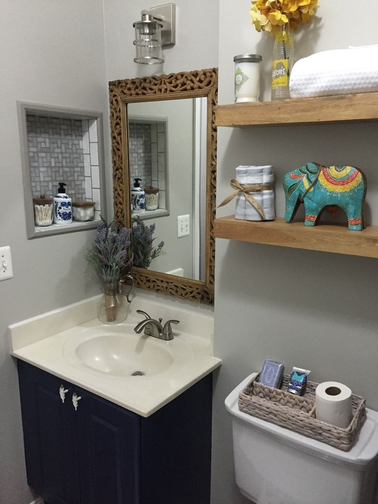 Unique Bathroom Makeover Pictures