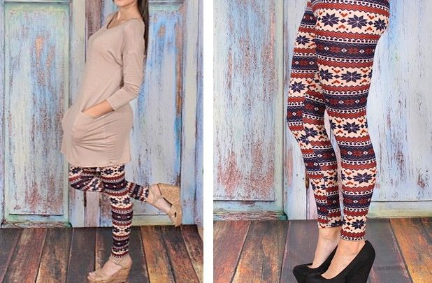 Printed Leggings Canada