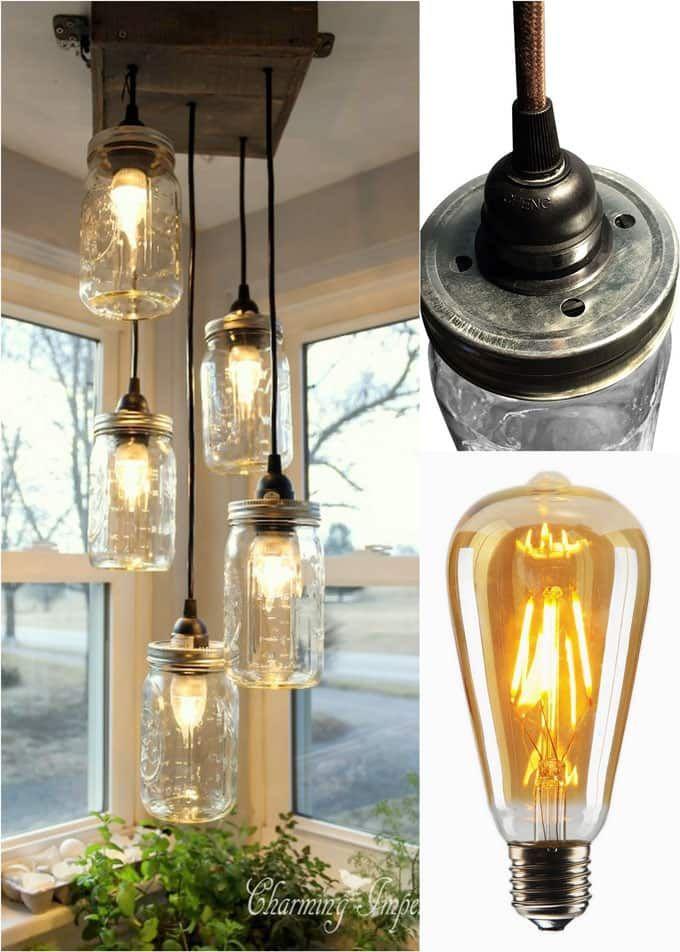 Diy Mason Jar Lights 25 Best Tutorials Kits Supplies Mason