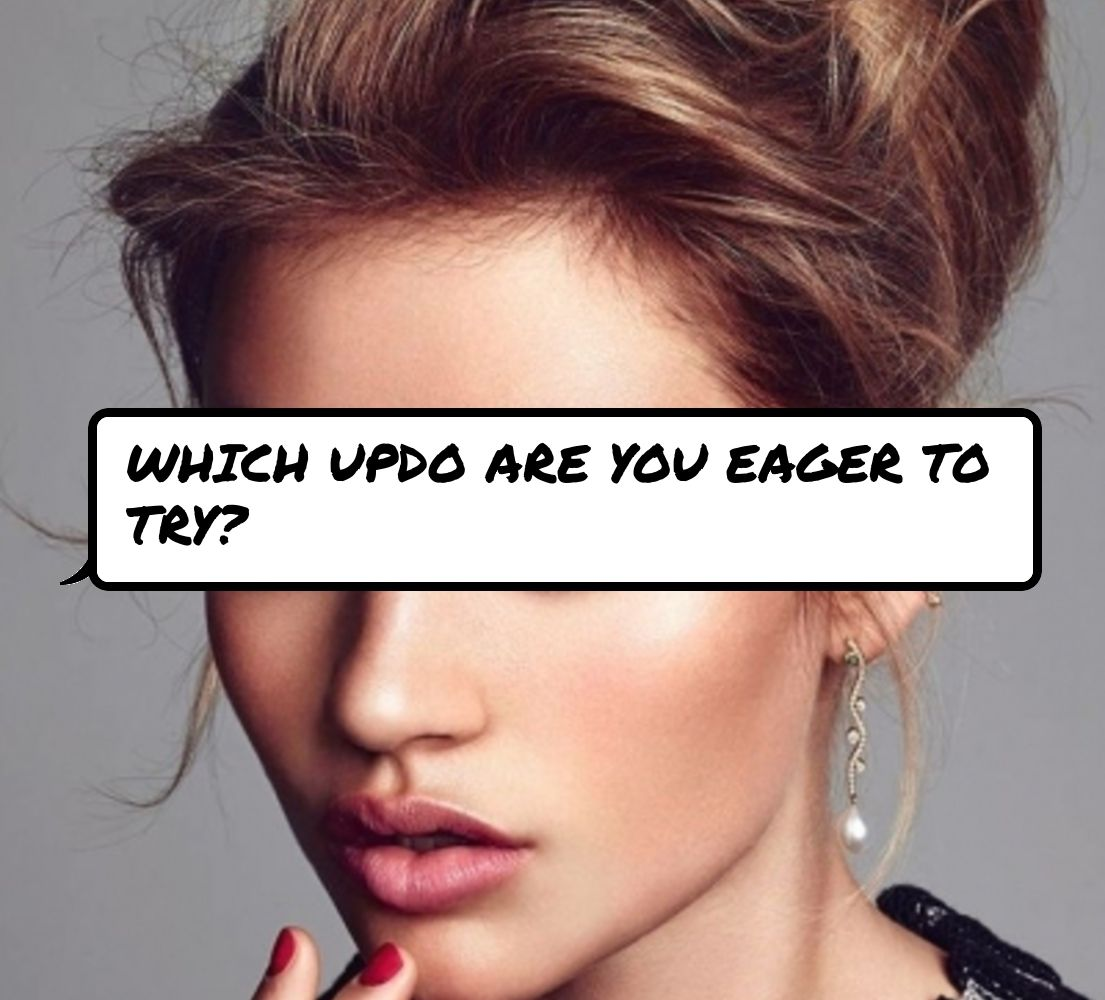 Updos for EveryDay Hair   Messy high bun Updos and Braided