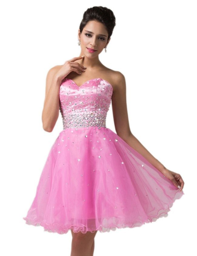 Junior Prom Dresses Short 2017 Exhibition Female Outfits | prom ...