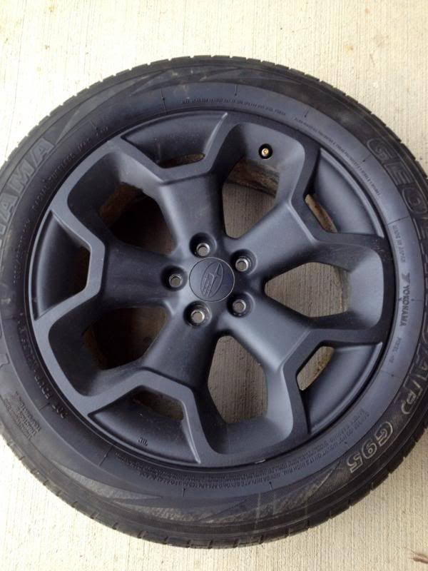 Black Wheels Subaru Crosstrek Google Search Subaru Cross Trek