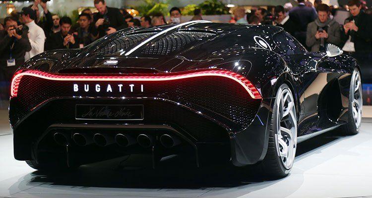 New Bugatti Chiron #ModernCar #MuscleCar #bugattichiron