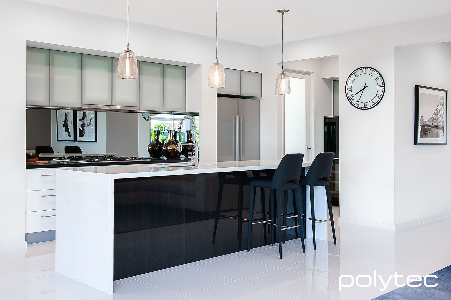 Polytec Glass Kitchen Cabinet Doors Small Kitchen Cabinets Kitchen Design Small