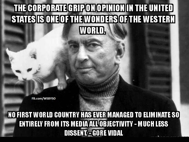 ...And Australia is always not far behind :-( ~ Gore Vidal