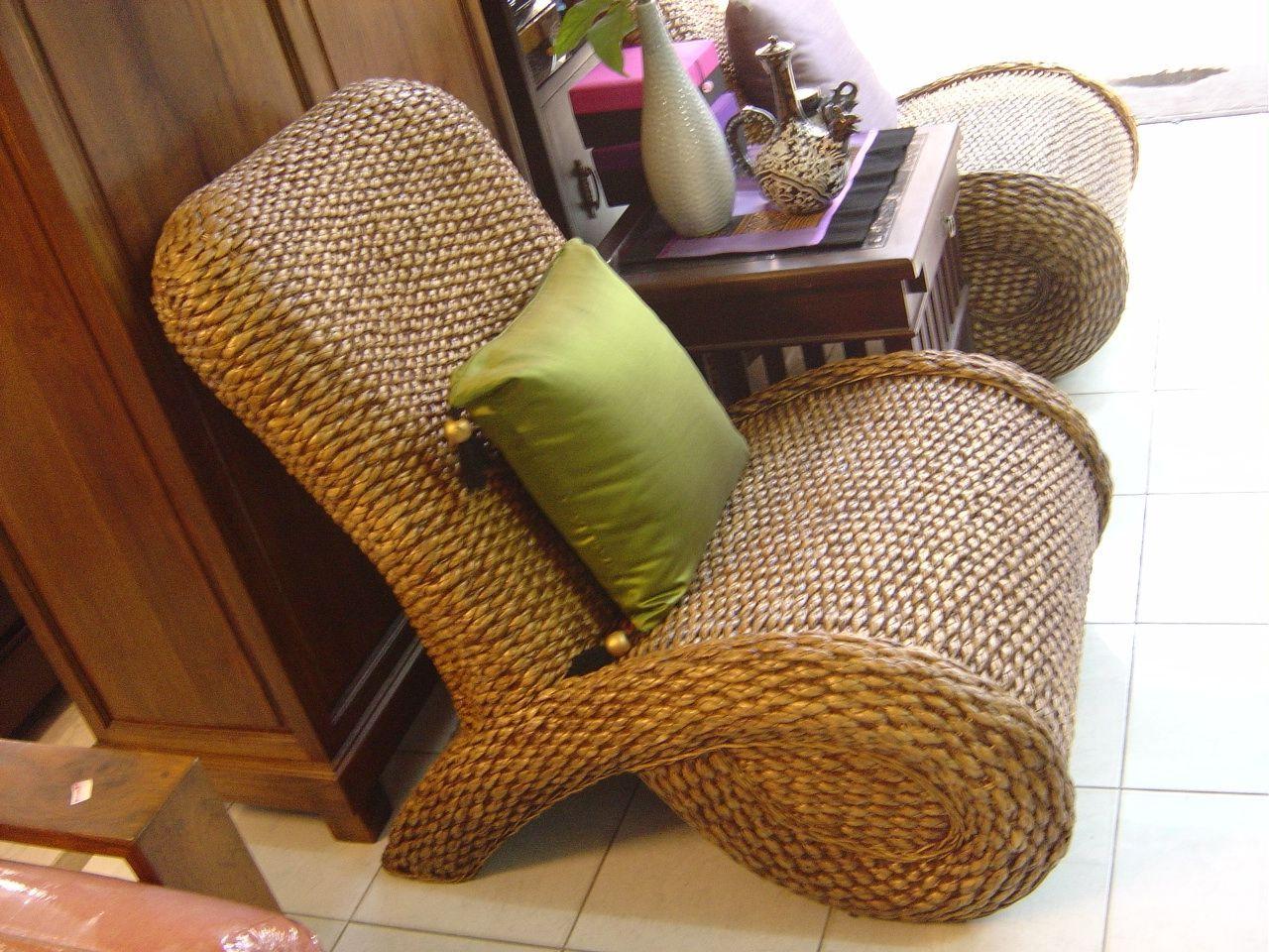 Charmant Eco Friendly Water Hyacinth Furniture