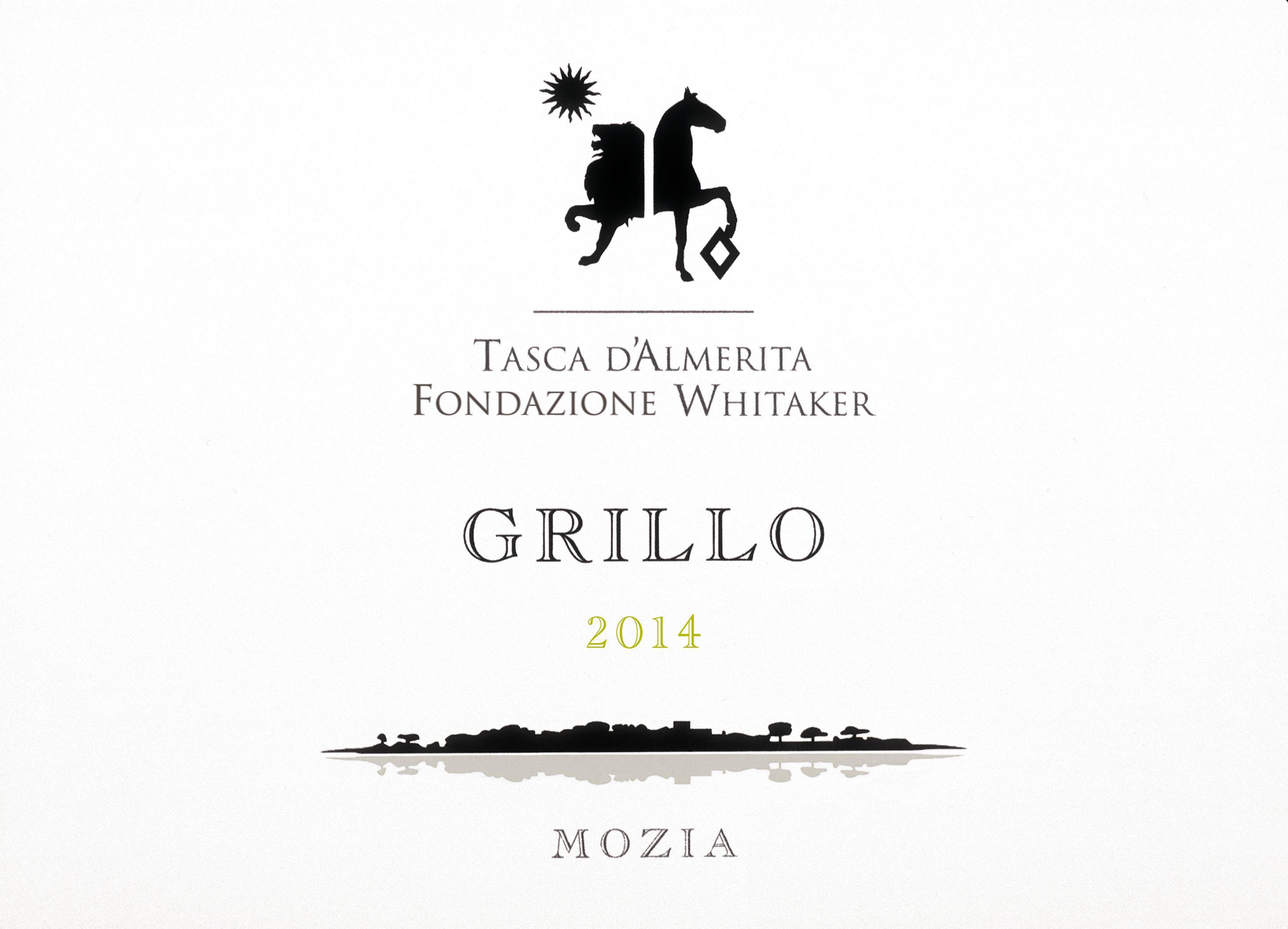 Grillo Mozia - Grillo - Fondazione Whitaker (Tasca d'Almerita) #etichette #vino #naming #packaging #design