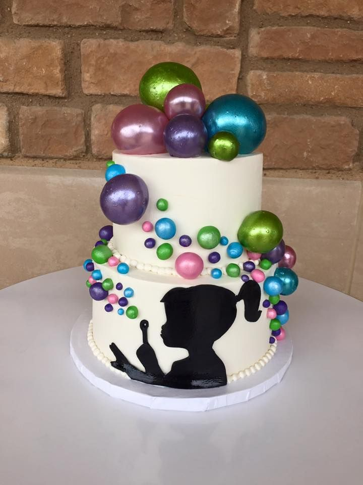 Bubble Birthday Parties Party Cake Train Silhouette