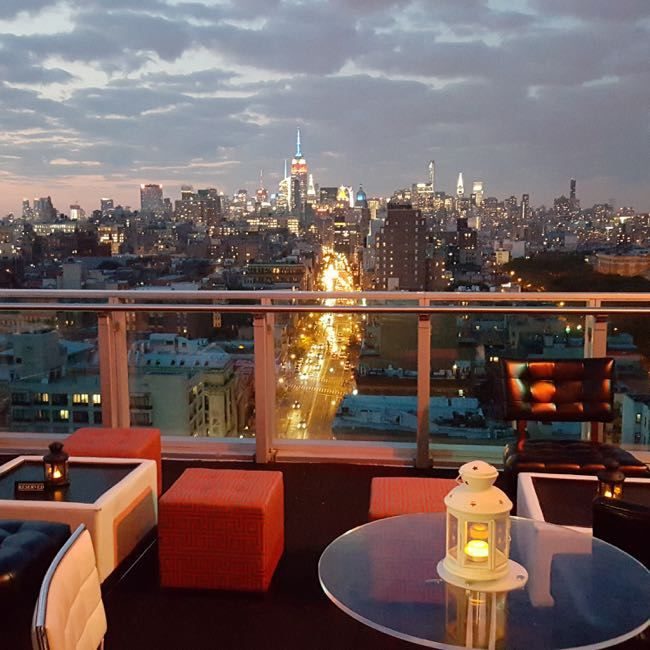 Rooftop Cocktail Lounge Opens At Wyndham Garden Chinatown The Lo Down News From The Lower East Side Rooftop City Living Private Event
