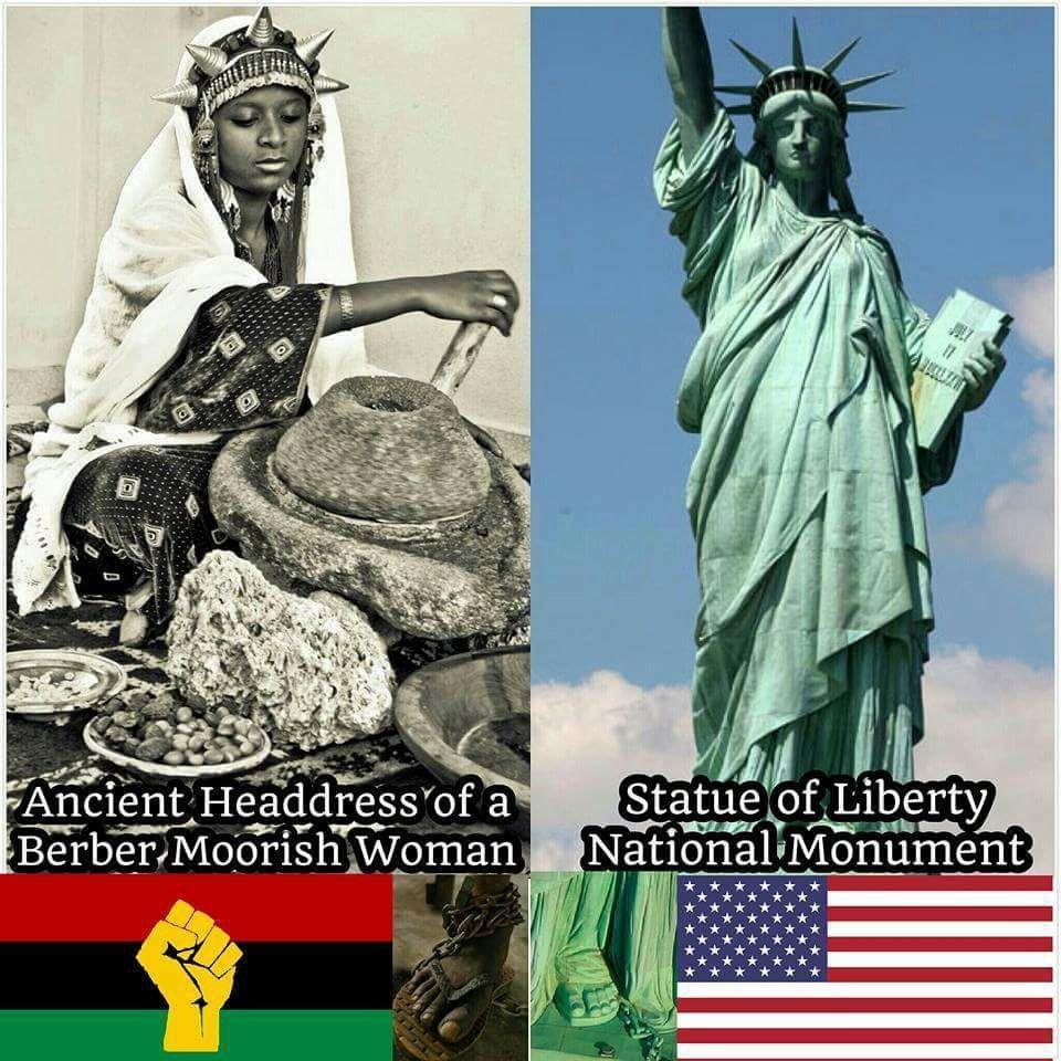 Photo of The Moorish Origin of the Statue of Liberty   Rasta Livewire