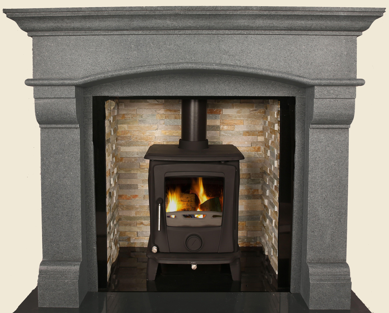 grey honed granite virgo 60 fire places pinterest granite