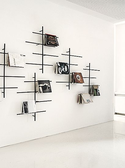 sketch magazine rack by jehs laub for schoenbuch. Black Bedroom Furniture Sets. Home Design Ideas