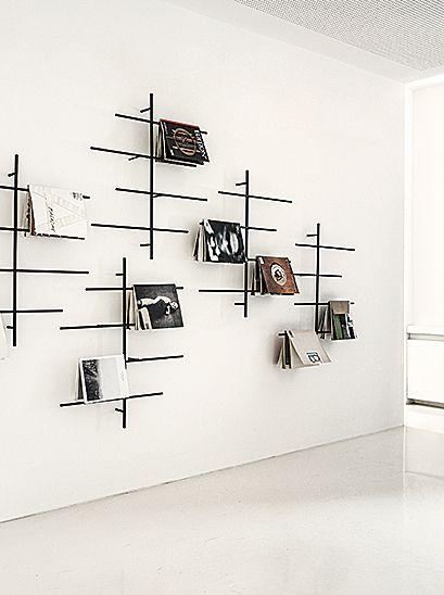 sketch magazine rack by jehs laub for schoenbuch. Black Bedroom Furniture Sets. Home Design Ideas