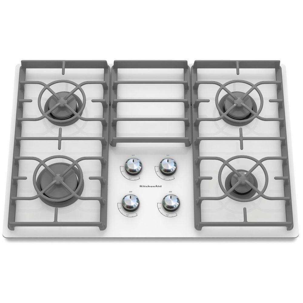Kitchenaid architect series ii 30 in gasonglass gas