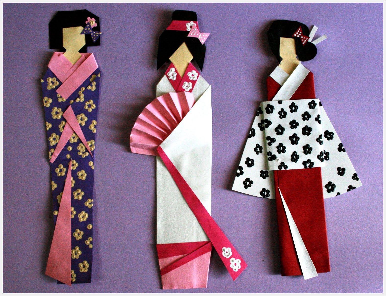 Geisha Bookmarks | Um,dois,três. One, two,three ... - photo#36
