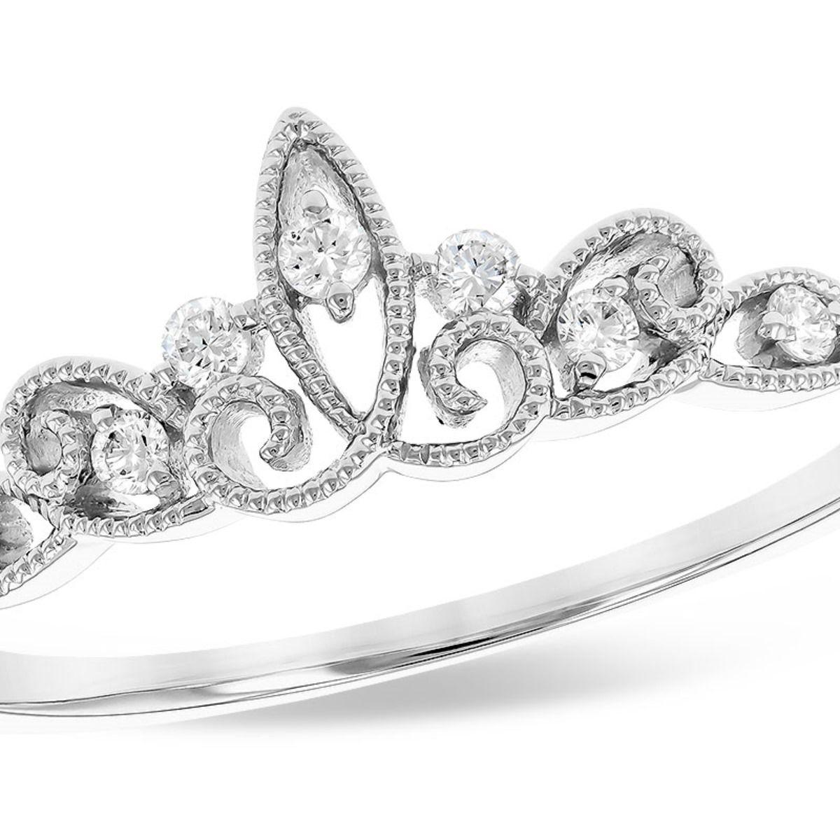 The diamond tiara ring for the princess inside you Tiara