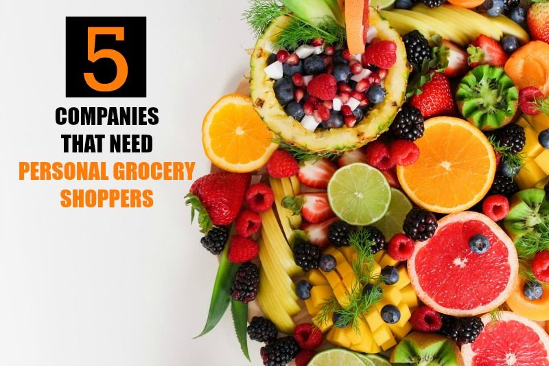 Personal Grocery Shopper Jobs - 5 Companies To Try! | Be