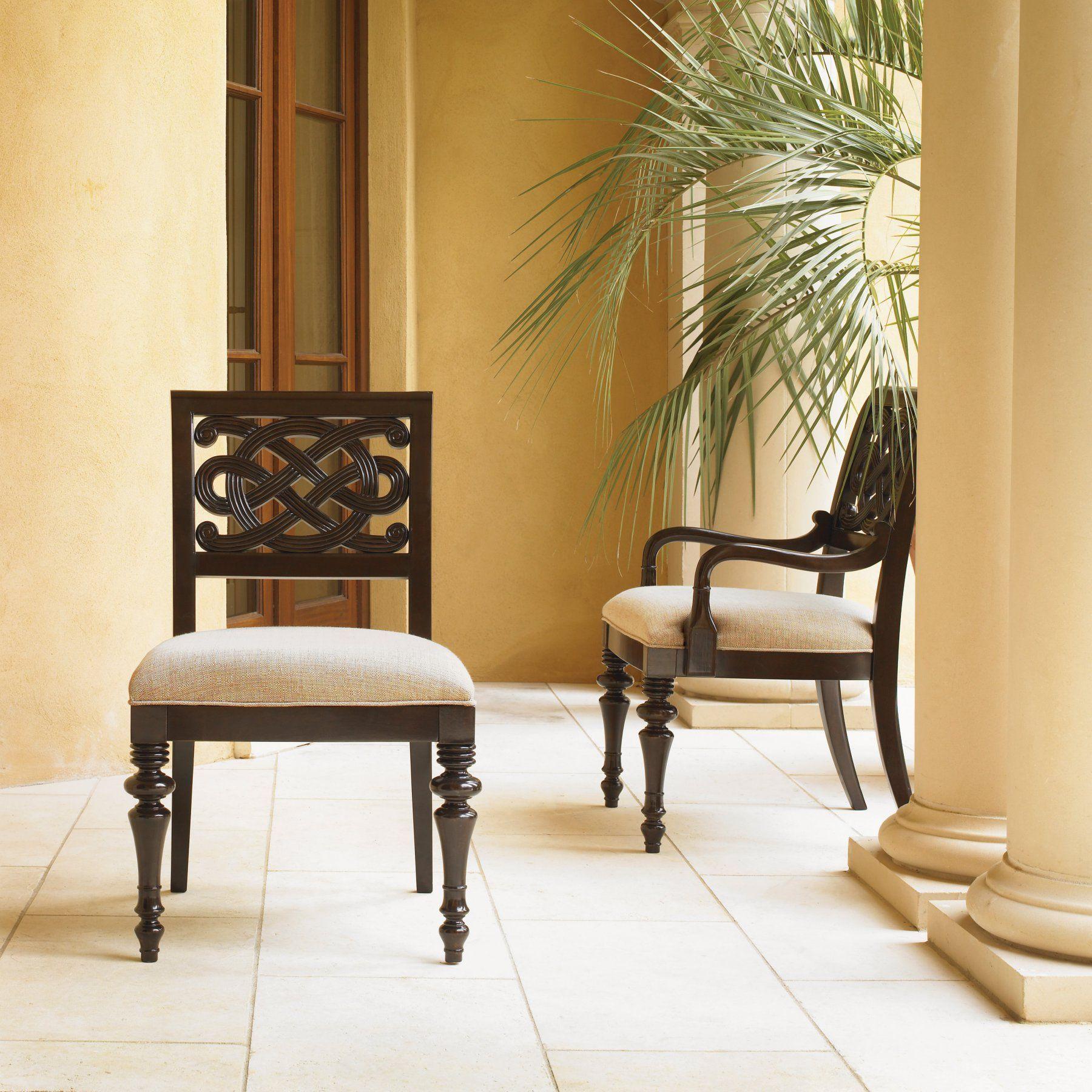 Sligh by Lexington Home Brands Royal Kahala Molokai Side Chair 01