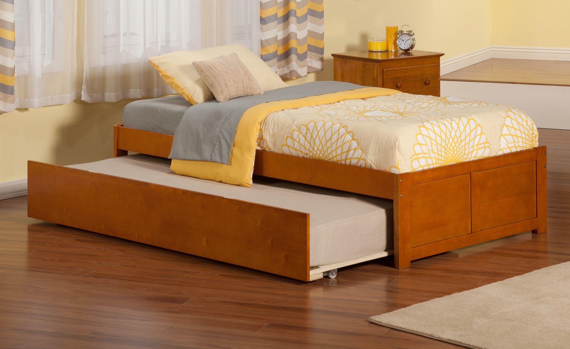 Eion Twin Platform Configurable Bedroom Set Platform Bed With