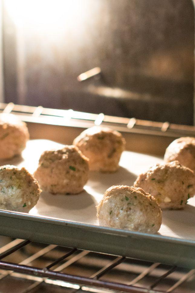 Gluten Free Turkey Meatballs - add garlic powder, onion powder and dried basil