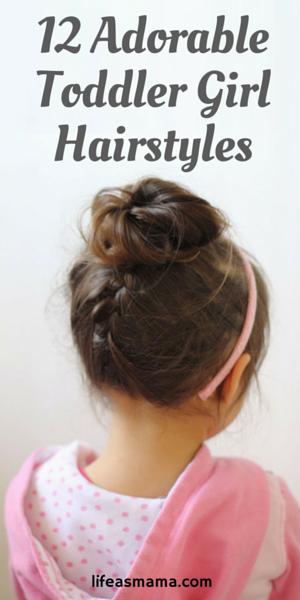 12 Adorable Toddler Girl Hairstyles Toddler Hairstyles Girl Kids Hairstyles Toddler Hair