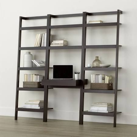 Leaning Bookcase Desk