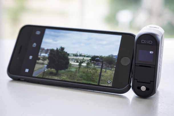 Here comes another new camera which is promising to revolutionise the compact camera market - the DxO One features a 20-million-pixel 1-inch type BSI sensor which attaches to your smartphone. We go hands on with the device to suss it out.