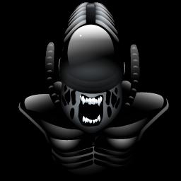 Alien Icon Alien Art Alien Horror Art