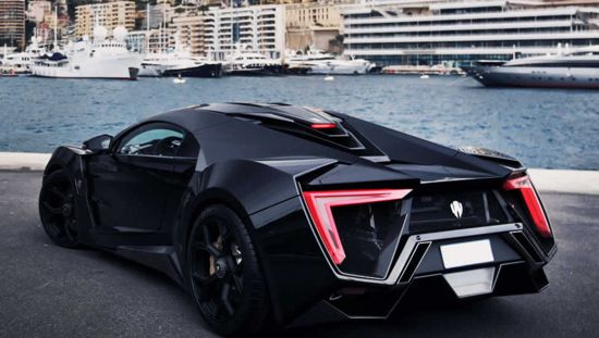 Top Five Most Expensive Cars In The World: Lykan Hypersport