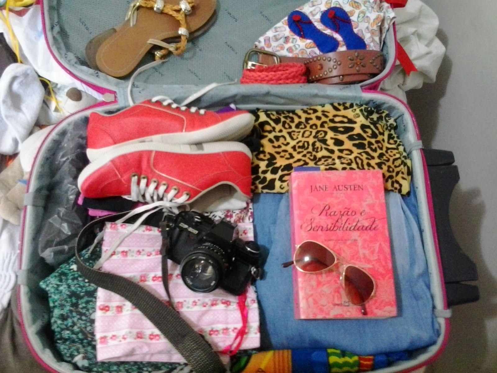 Sandra Falcão: Check List pra viagem...Fazendo as malas