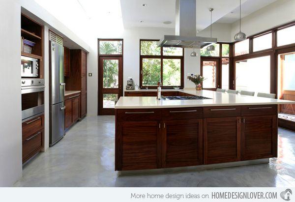 15 contemporary u shaped kitchen designs kitchen design shapes