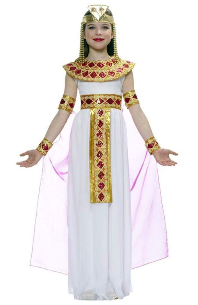 Kids Cleopatra Egyptian Princess Girl Halloween Costume Girl - ideas for halloween costumes