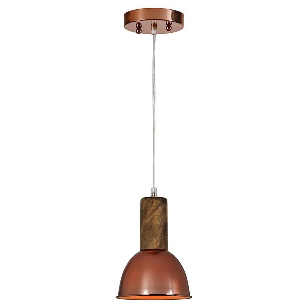 Renwil Horik 1 Light Copper Pendant