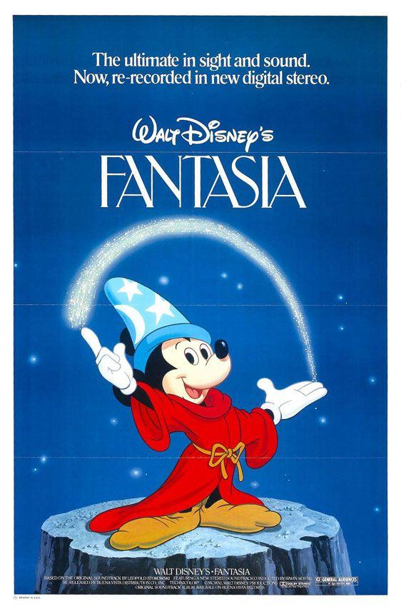 Fantasia 1940 Poster Traileraddict Fantasia Disney Walt Disney Pictures Disney Posters