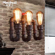 Loft personnalité vintage ptoir de bar américain lampe de tuyau d