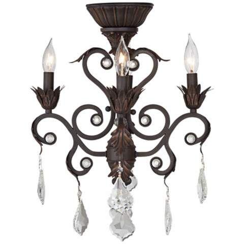 Unique Chandelier Ceiling Fan Light