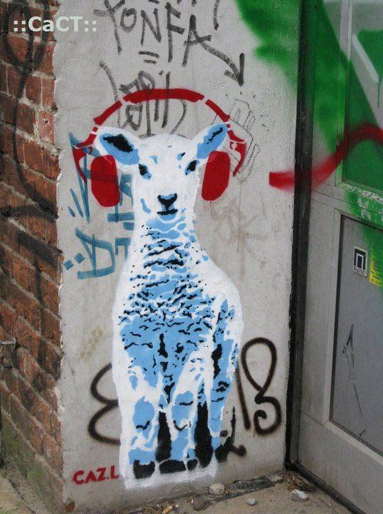 Via Stencil Chile Chile Streetart Simple Street Art Mural