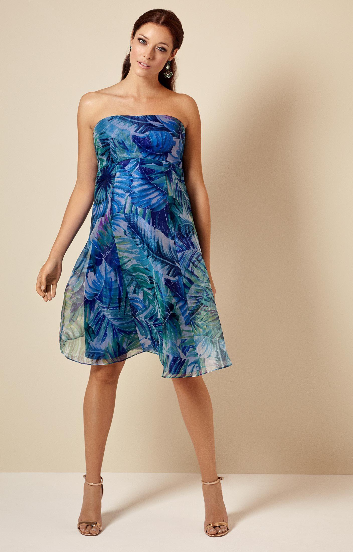 Kleid Ocean Kurz | Pinterest | Tropische Drucke, Umstandskleid und ...