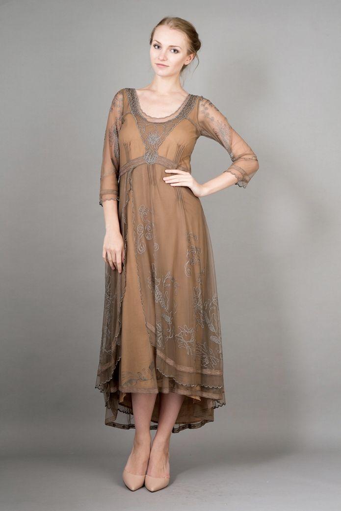 Nataya 40163 Downton Abbey Dress Antique Silver,Nataya vintage ...