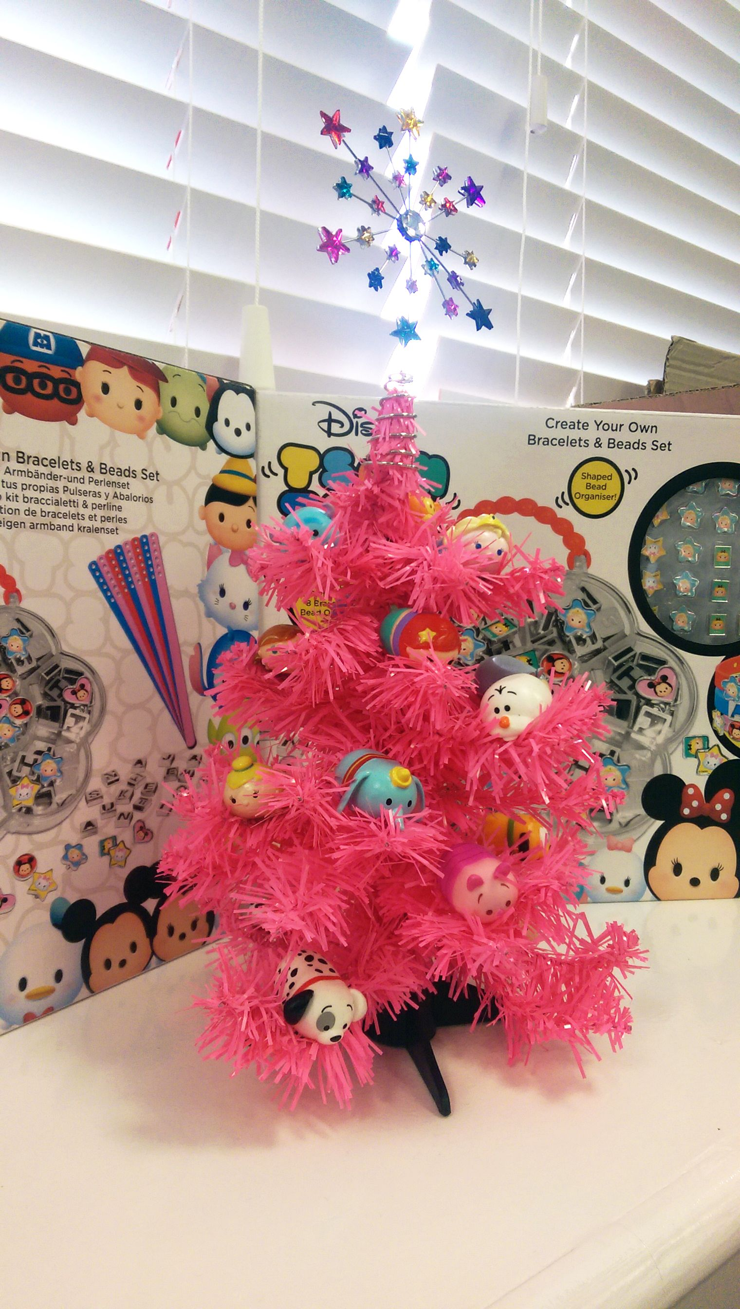 How do you like our office Christmas tree full of Tsum Tsum