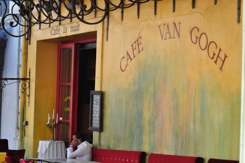 A popular place in Arles, France, as we saw on our @VikingRiver #cruise #VikingLongships