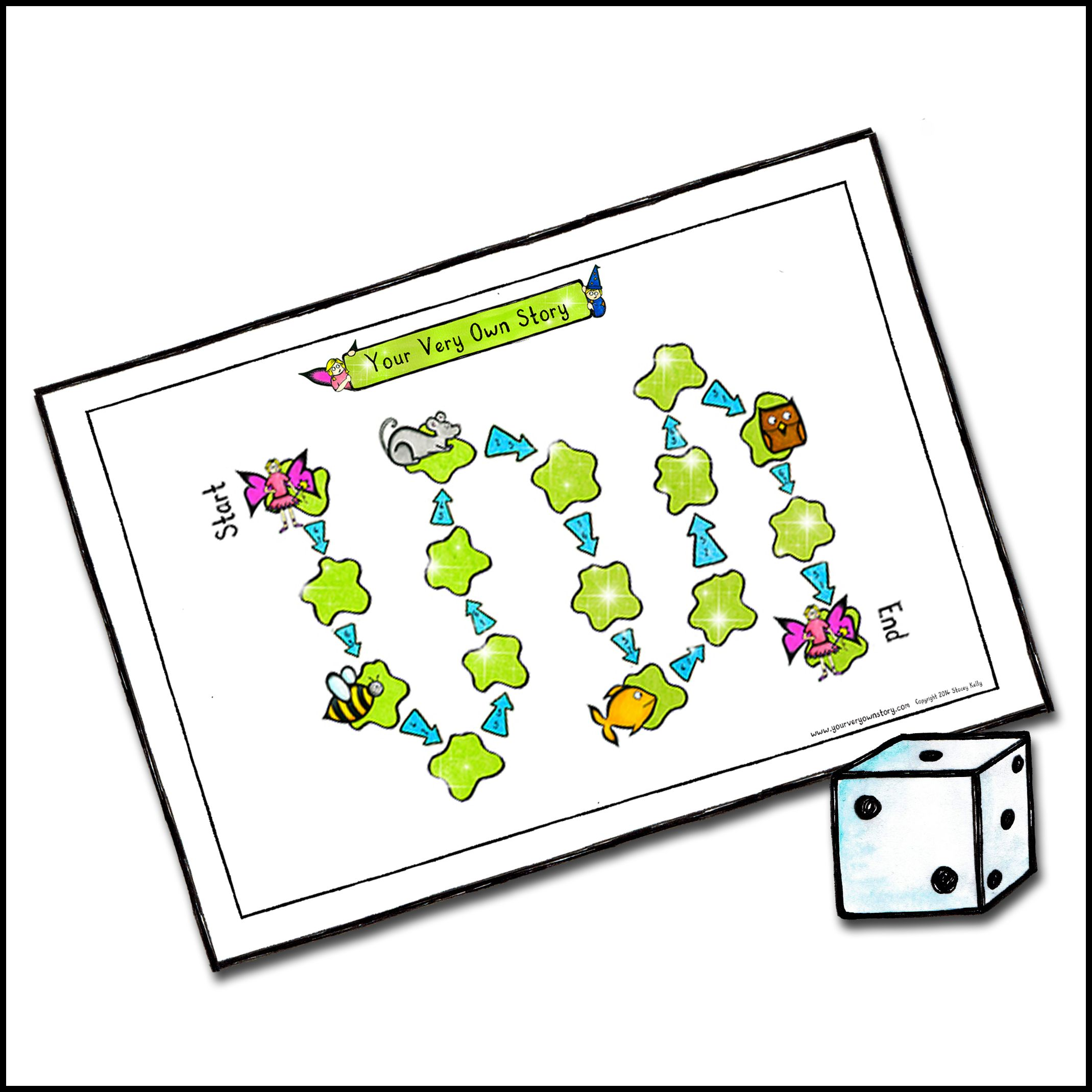 FREE Fairy Leapfrog Board Game Enjoy Playing This Fun Dice Game