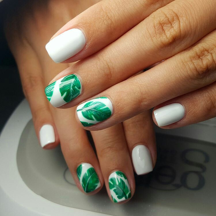 2016 dolce gabbana tropical style nail art by Kristina Starykh ...