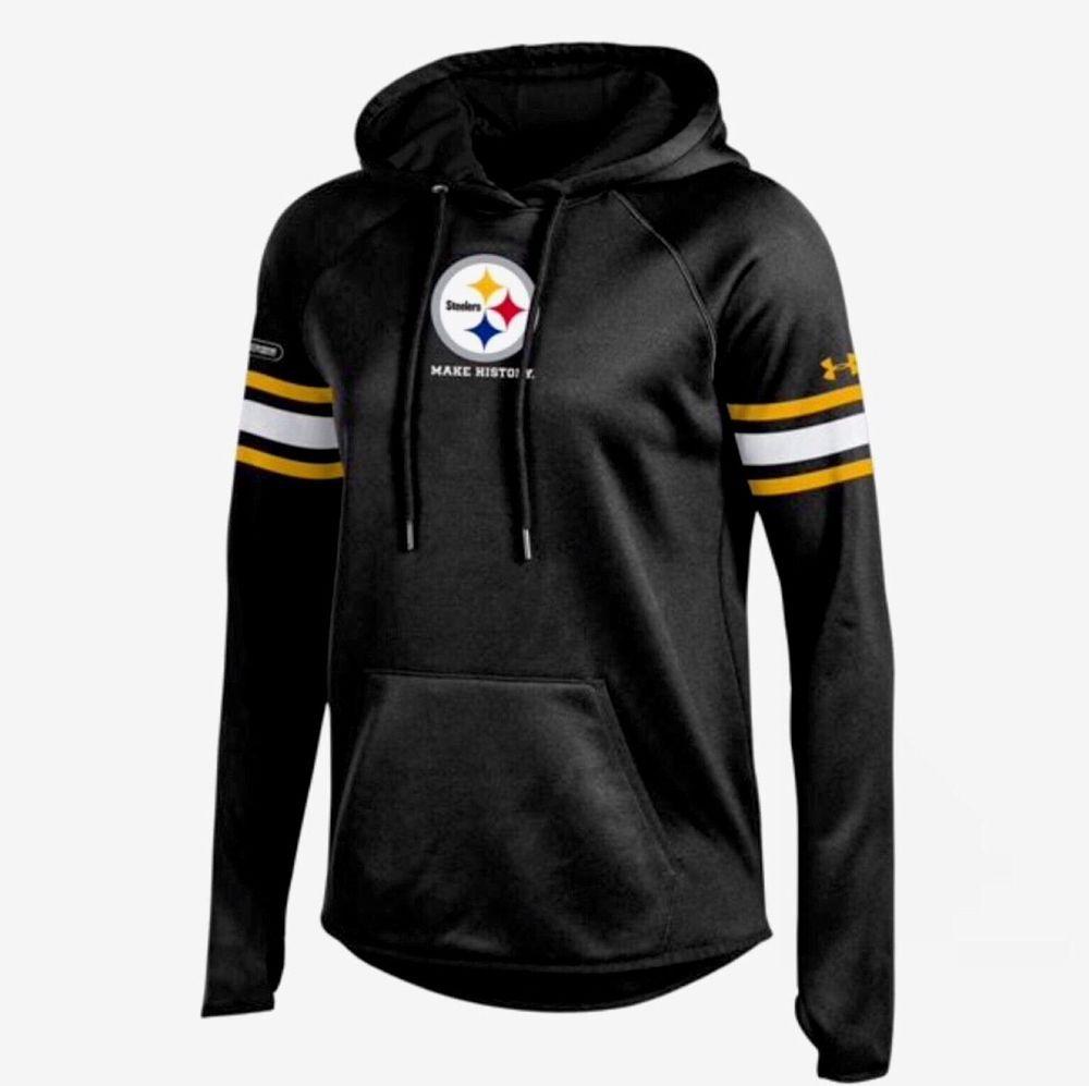 Pittsburgh Steelers Under Armour NFL Combine Authentic M Hoodie Sweatshirt #Underarmour #PittsburghSteelers