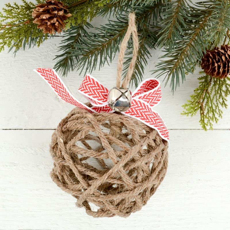 how to make rustic christmas ornaments natural tree decorations cute diy home made gift